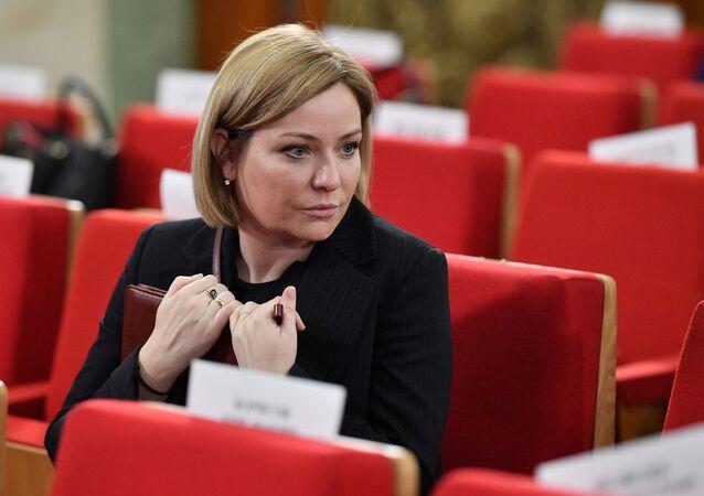 Rusya Kültür Bakanı Olga Lyubimova