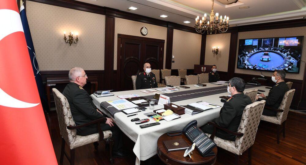 Genelkurmay Başkanı Orgeneral Yaşar Güler, NATO Askeri Komite Genelkurmay Başkanları toplantısına katıldı.