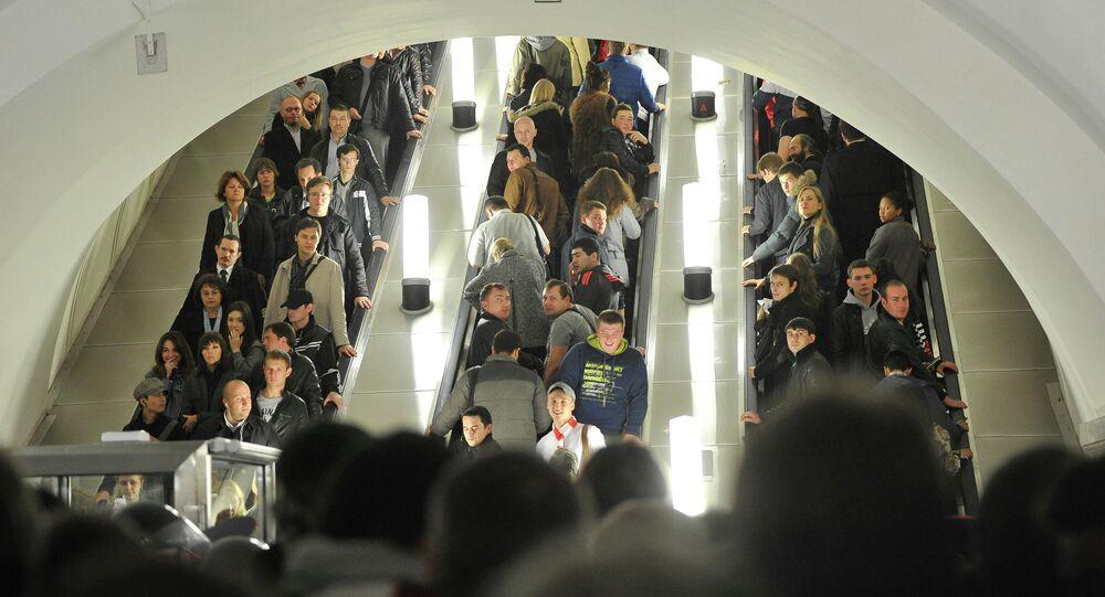Her gün milyonlarca yolcu taşıyan Moskova metrosu, hareket yoğunluğu, sefer sayısı ve emniyet bakımından  dünyada birinci sırada yer alıyor.