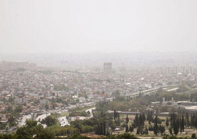 Antalya'da nem bulutu