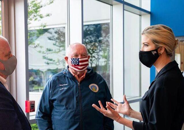 Asistanında koronavirüs çıkan Ivanka Trump'tan maske önlemi
