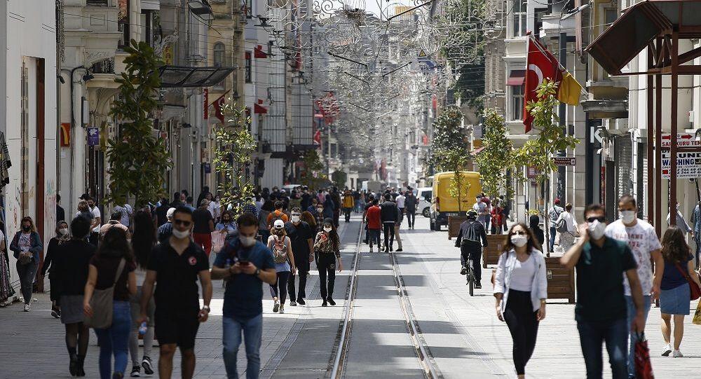 Türkiye - koronavirüs - İstiklal Caddesi