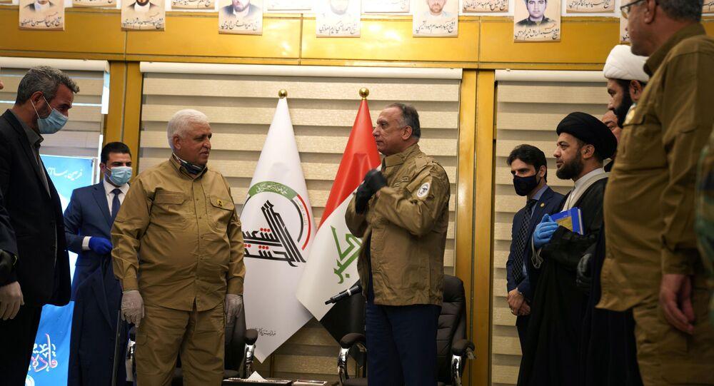 Irak Başbakanı Mustafa el Kazımi - Falih Feyyad