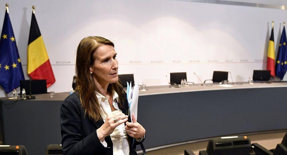Brüksel Başbakanı Sophie Wilmes
