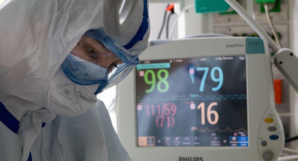Rusya - Moskova – Sağlık çalışanı- koronavirüs – Kovid-19