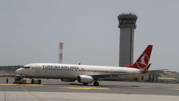 THY'nin 9 milyon sembolik yolculu 19 Mayıs özel uçuşu başladı - Sputnik Türkiye