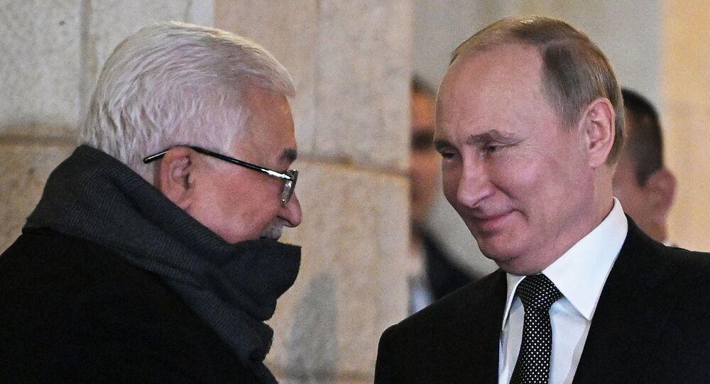 Mahmud Abbas - Vladimir Putin