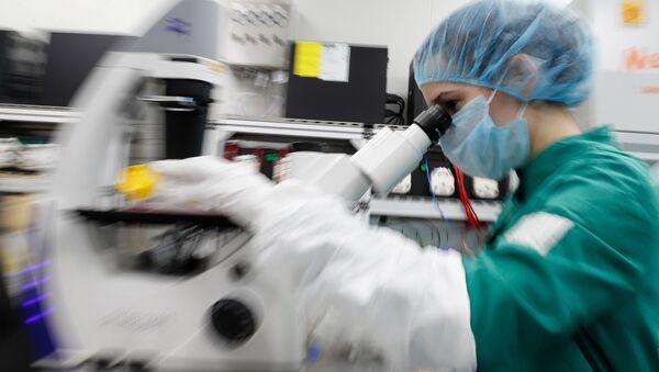 Koronavirüs-Laboratuvar-Aşı çalışmaları - Sputnik Türkiye