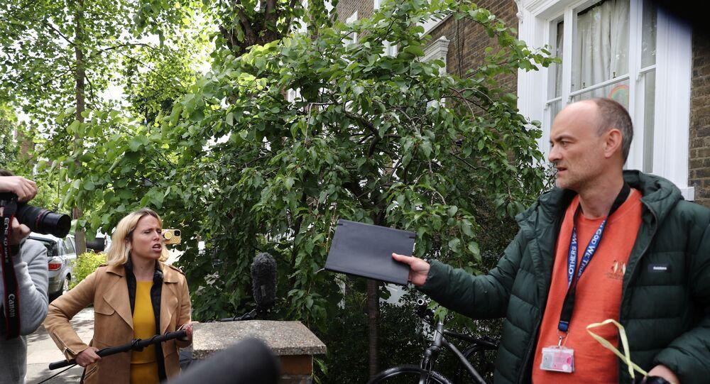 İngiltere Başbakanı Boris Johnson'ın Başdanışmanı Dominic Cummings