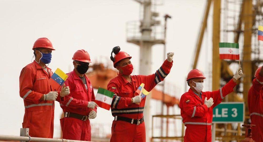İran'ın Venezüella'ya gönderdiği tanker ülke kara sularında