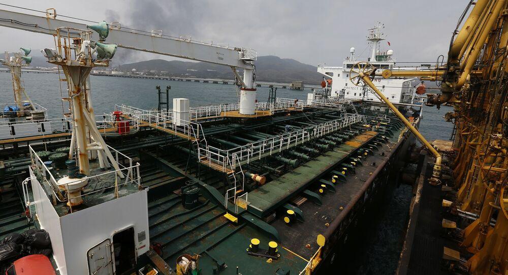 Fortune' tankerinin ardından ikinci tanker 'Forest' da bugün Venezüellaya ulaştı.