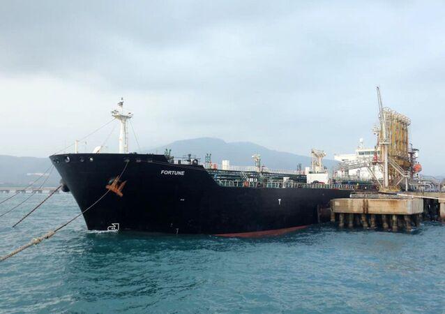İran'a ait tankerlerin toplam 1 milyon 53 bin varil akaryakıt taşıdığı kaydedildi