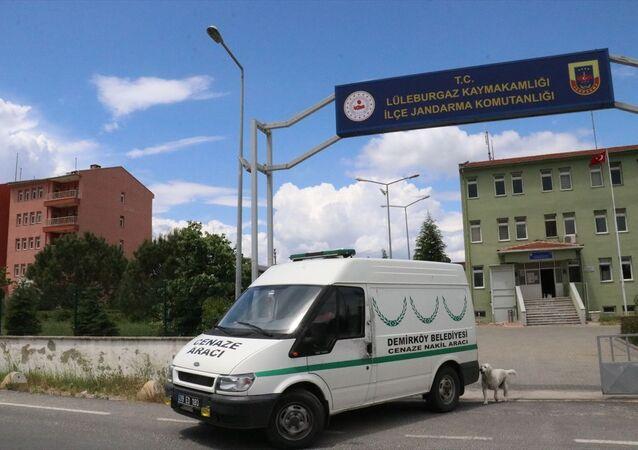 Kırklareli'nde cenaze aracını çalıp uyuşturucu taşıdılar