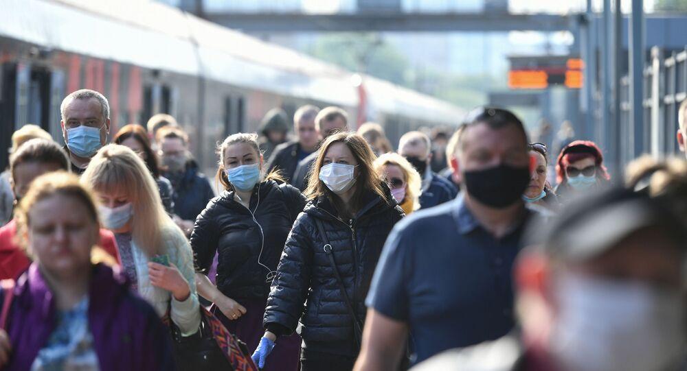 Koronavirüs - Moskova - Rusya - maske