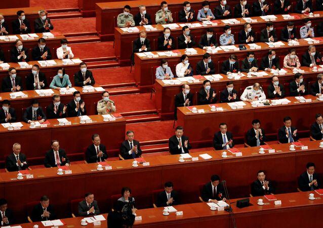 Çin Ulusal Halk Kongresi, Hong Kong Özel İdari Bölgesi'nde uygulanacak Ulusal Güvenlik Yasası'nı kabul etti.