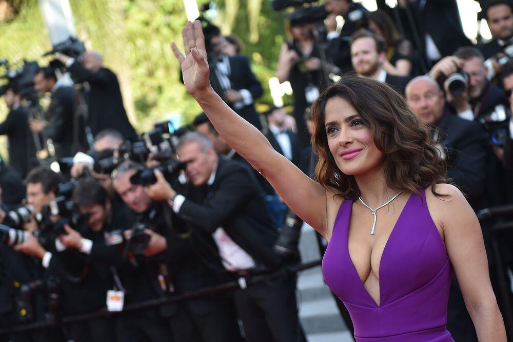 Meksikalı sinema oyuncusu  Salma Hayek