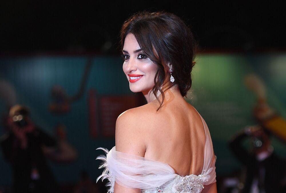 İspanyol oyuncu Penelope Cruz