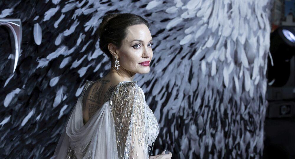 ABD'li oyuncu Angelina Jolie