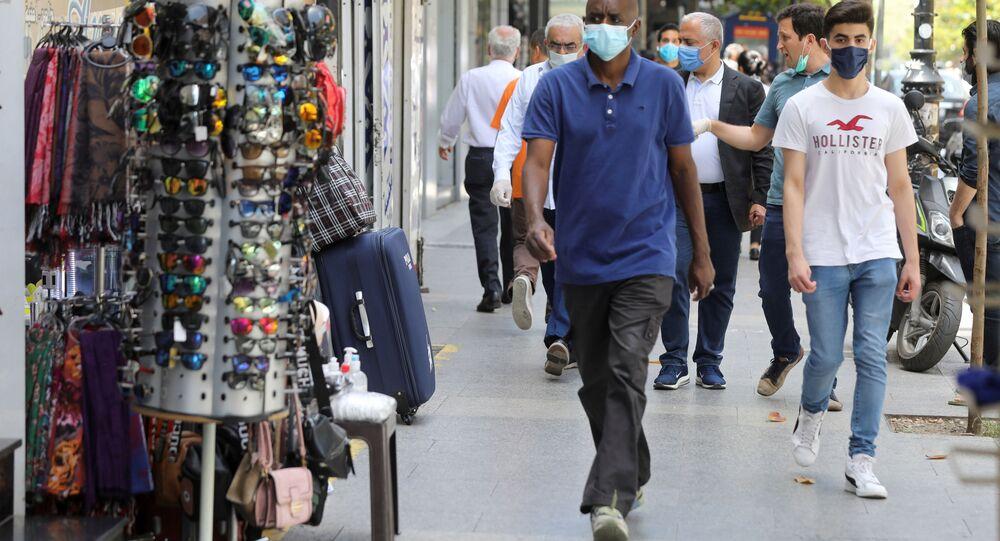 Lübnan - Beyrut - maske - koronavirüs