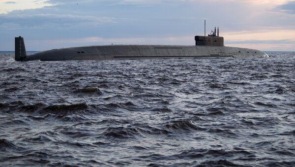 Rus nükleer denizaltısı Knyaz Vladimir - Sputnik Türkiye
