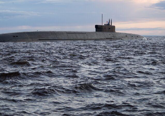 Rus nükleer denizaltısı Knyaz Vladimir