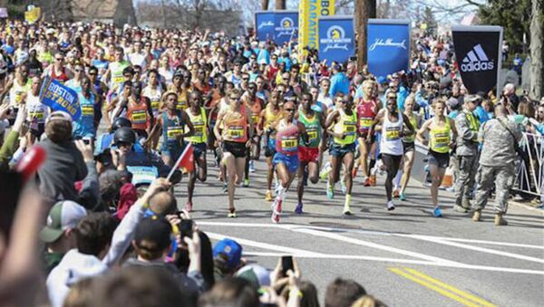 Boston Maratonu - Sputnik Türkiye