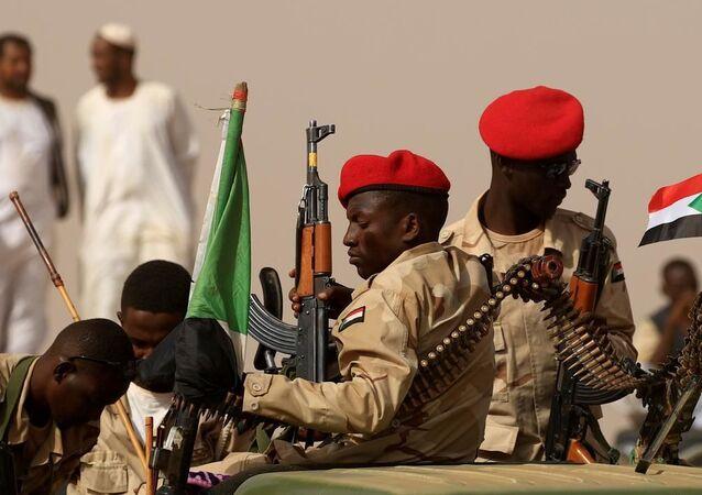 Sudan güvenlik güçleri bünyesindeki askerler