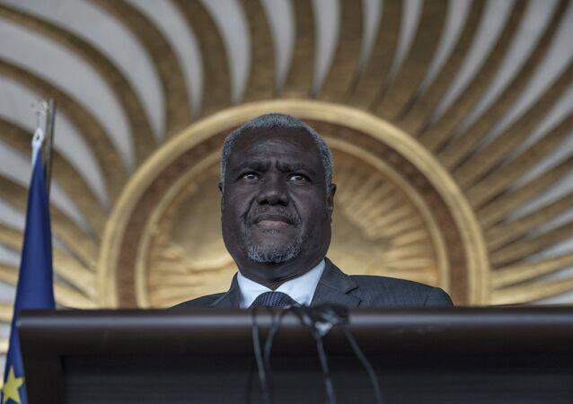 Afrika Birliği Komisyonu Başkanı Musa Faki Muhammed