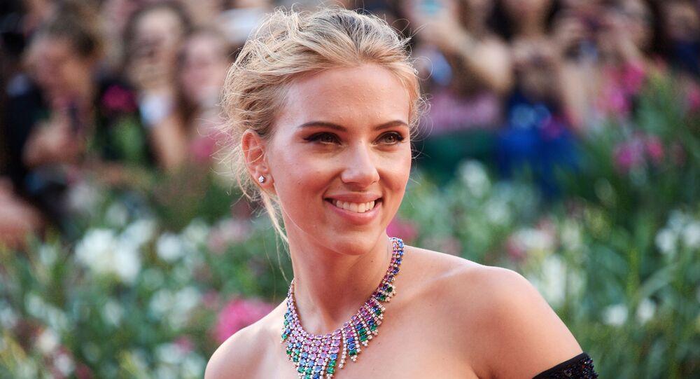 ABD'li oyuncu Scarlett Johansson