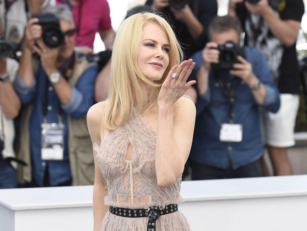 Avustralya asıllı sinema oyuncusu Nicole Kidman
