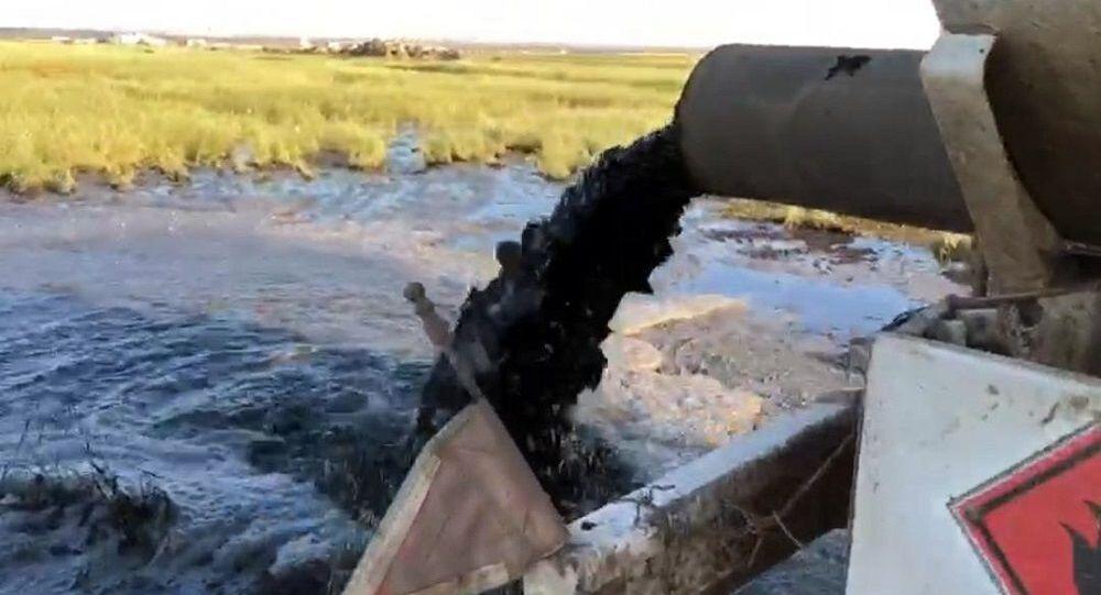 Tarım arazisine kimyasal atık dökenler suçüstü yakalandı