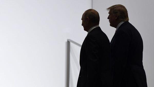 Vladimir Putin Donald Trump - Sputnik Türkiye