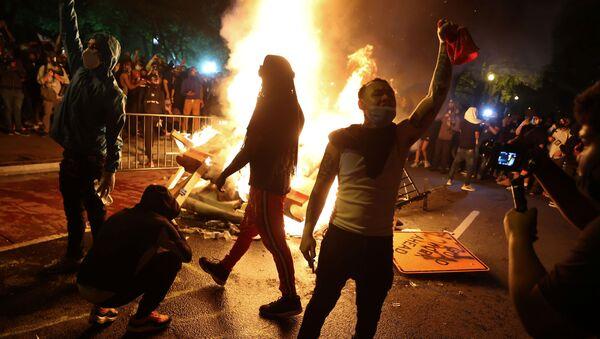 Washington, protesto - Sputnik Türkiye