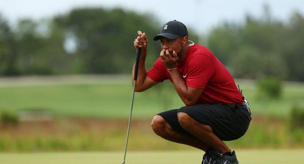 ABD'li golfçü Tiger Woods