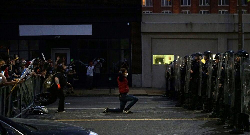 George Floyd - Polis - ABD - protesto