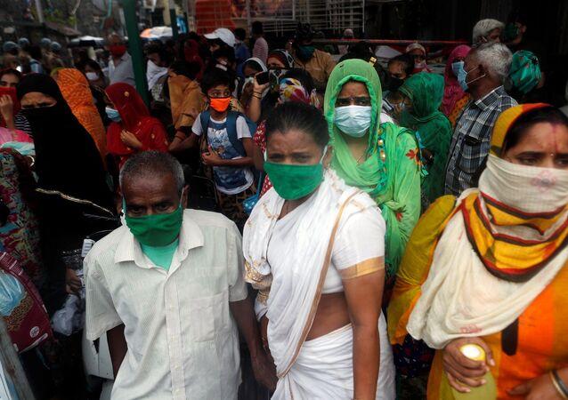 Nisarga Kasırgası - Hindistan  - maske - koronavirüs