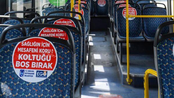 Ankara - toplu taşıma - EGO - Sputnik Türkiye