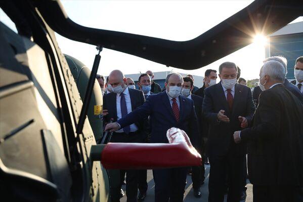 Toplantıda TÜBİTAK Uzay Teknolojileri Araştırma Enstitüsü yetkililerince faaliyetlere ilişkin sunum yapıldı.  - Sputnik Türkiye