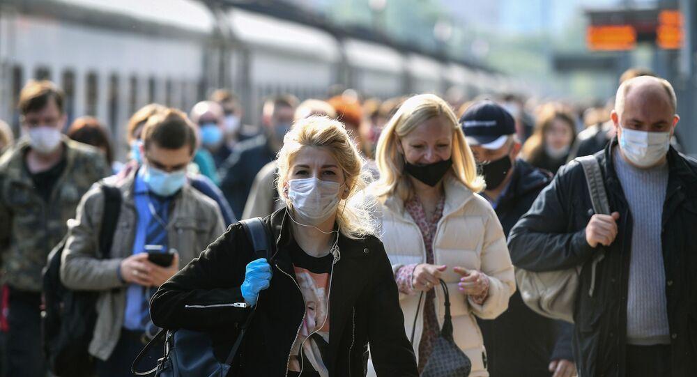 Koronavirüs salgını sürecinde Moskova