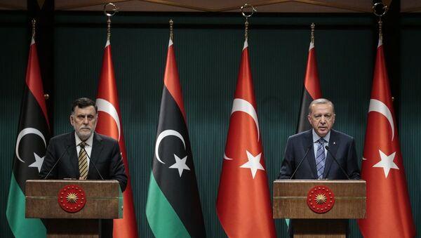 Erdoğan - Serrac - Sputnik Türkiye