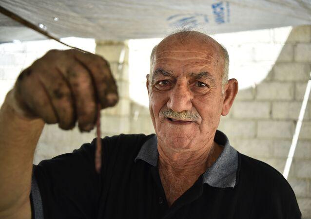 Suriye'nin ilk solucan çiftliği