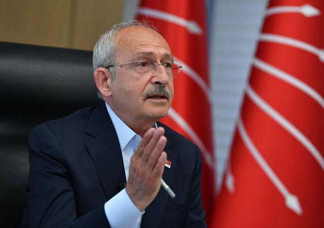 CHP Genel Başkanı Kemal Kılıçdaroğlu, CHP il başkanlarıyla video konferans yöntemiyle görüştü.