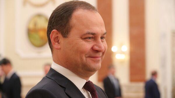 Belarus Başbakanı Roman Golovçenko - Sputnik Türkiye