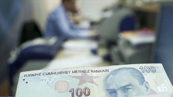 kısa çalışma ödeneği, türk lirası, banka, para - Sputnik Türkiye