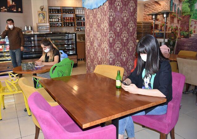 Şırnak - restoran + kafe  - normalleşme sürecine uygun hizmet veriliyor