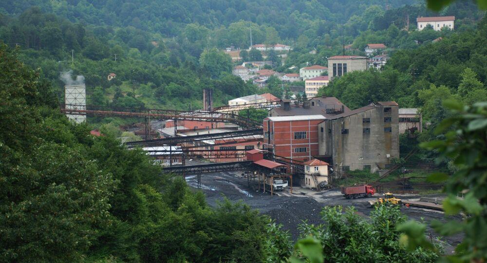 Türkiye Taş Kömürü Kurumu (TTK) Armutçuk Müessese Müdürlüğü'ne bağlı maden ocağı