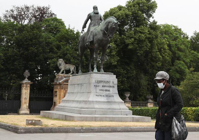 Belçika Kralı 2. Leopold heykeli