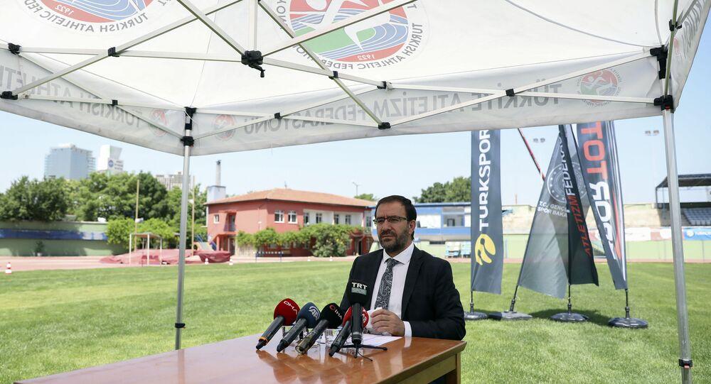 Türkiye Atletizm Federasyon (TAF) Başkanı Fatih Çintimar