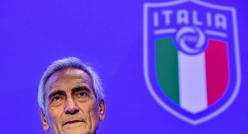 İtalya Futbol Federasyonu (FIGC) Başkanı Gabriele Gravina