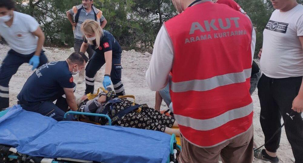 Denizli'de kaybolan kadın hafıza kaybı geçirmiş halde bulundu